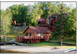 Big narrows cabins at lake of the woods for Lake of the woods fishing resorts